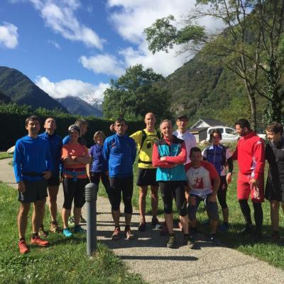 Journée trail Auzat /AG 2017
