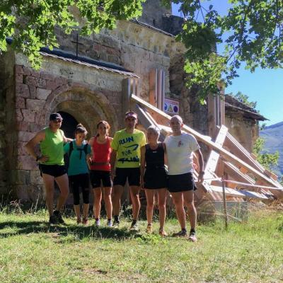 Sortie trail Mercus-Arnave-Croquié 16 juilet 2016