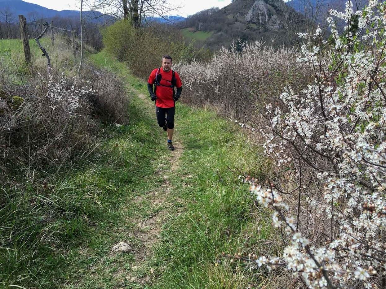 Sortie Trail Pech de Foix - Montgailhard 2 avril 2016