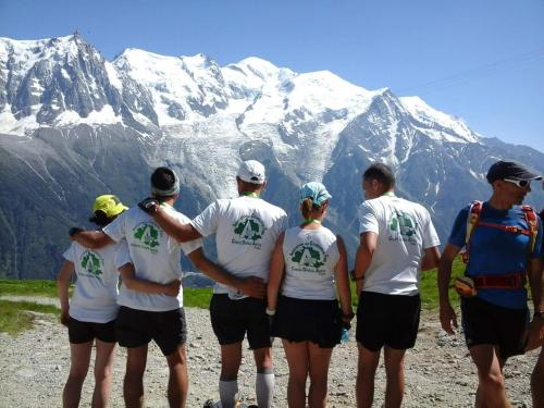 L'équipe CAP09 au marathon du Mont Blanc 2015
